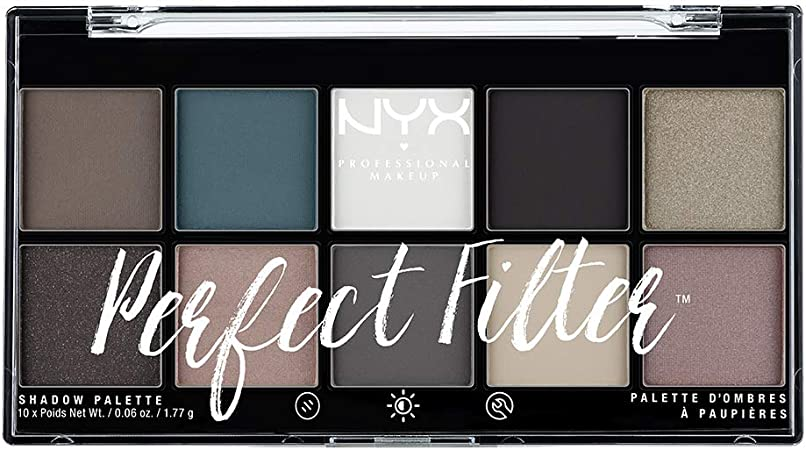 NYX Professional Makeup Perfect Filter Eyeshadow Palette Gloomy