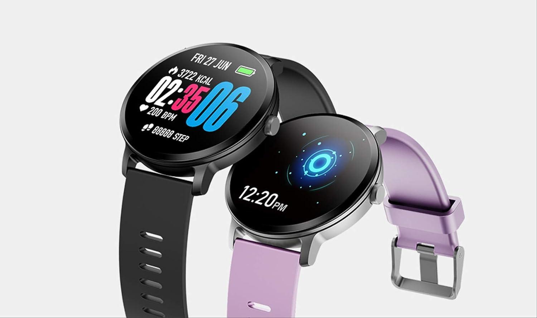 CCYX Reloj Inteligente Ip67 Actividad de Vidrio Templado a Prueba ...