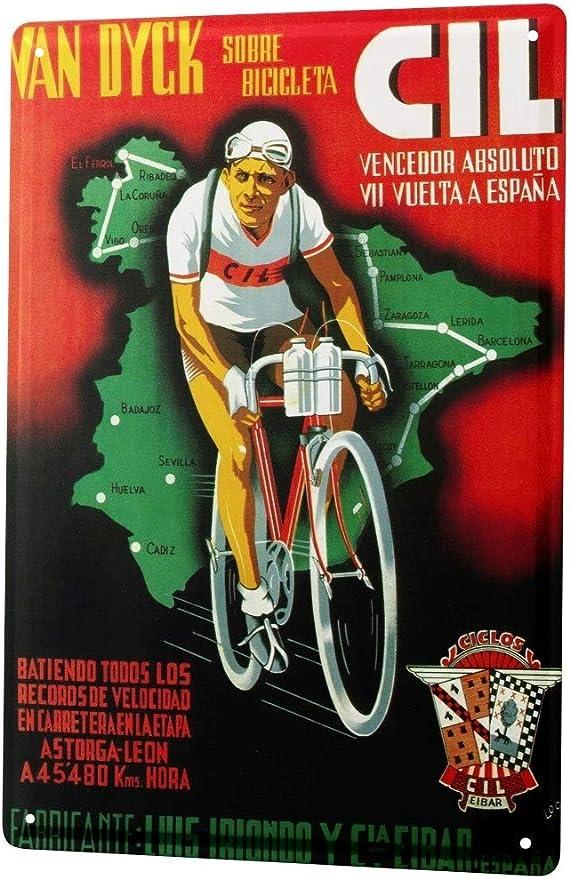 LEotiE SINCE 2004 Cartel Letrero de Chapa Deportes Carrera de ...
