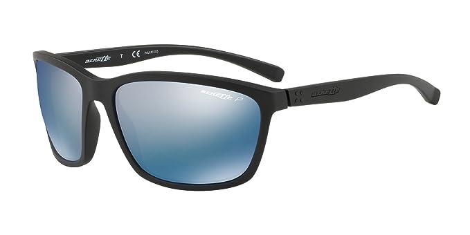 Arnette 43122 Gafas de sol, Matte Black, 63 para Hombre