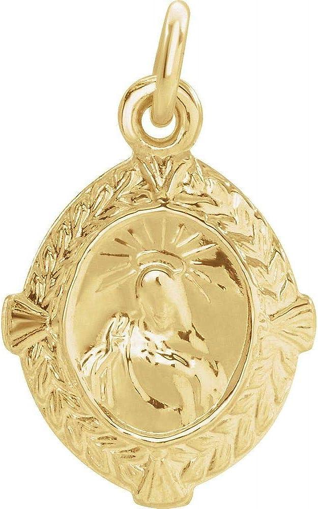 Religious Pendants Sacred Heart of Jesus Medal