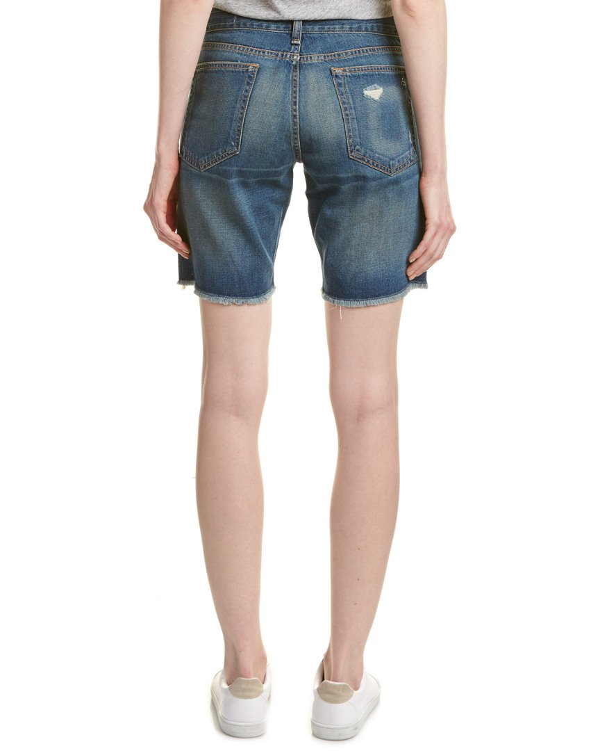 rag & bone Jean Women's Distressed Denim Walking Shorts in Gia Wash (Blue) (25) by rag & bone (Image #2)