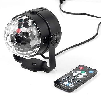 Iluminación YK2278 3W RGB LED Disco Etapa DJ Luces ...