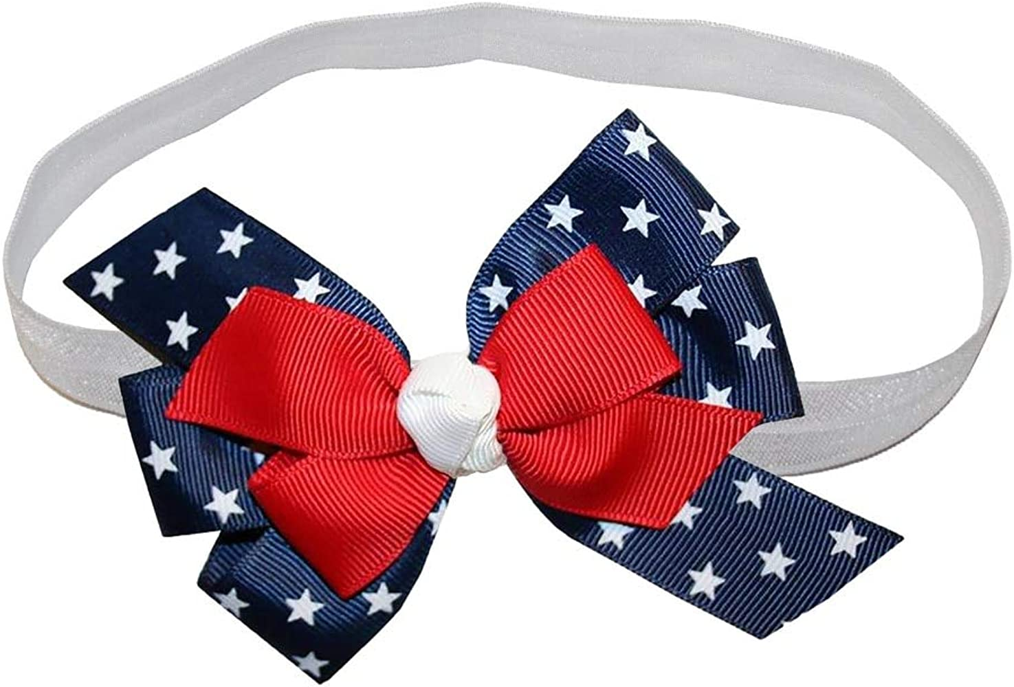 fourth of july bow red bow school bow patriotic bow back to school bow 5 bow bow Navy hairbow girls hairbow girls red bow