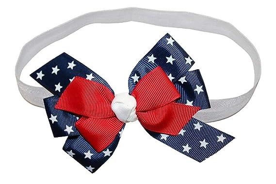 Amazon.com: wd2u bebé niñas Rojo Color blanco Blue Star ...