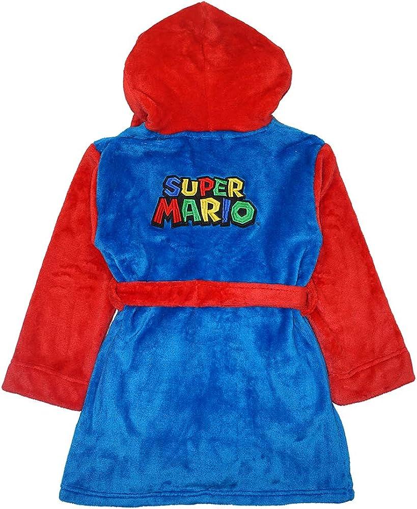 SUPER MARIO Little//Big Boys Plush Robe