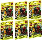 free lego minifigures - LEGO Minifigures Series 16 Bundle Set of 6 (Characters May Vary)