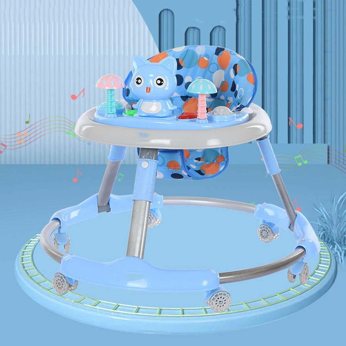 die Bewegungsfreiheit bieten CHAOLIU Baby Trend Walker und Aktivit/ätszentrum 3-Positionen H/öhenanpassung,1 Learning Walker es First Steps mit Multi-Directional Wheels