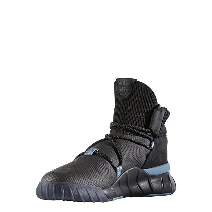 adidas Tubular X 2.0 PK, Chaussures de Fitness Homme, Multicolore-Noir/Gris/Bleu (Negbas/Gricua/Azutac), 42 EU