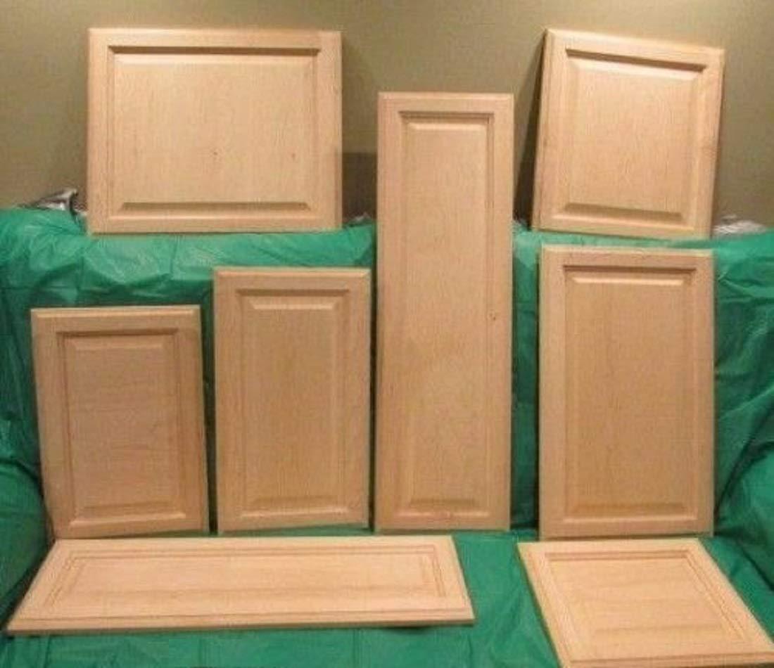 Amazon.com: Thaisan7, Solid Wood Maple Unfinished Raised ...