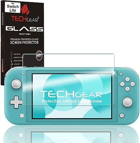 TECHGEAR Switch Lite Vidrio - Protector de Pantalla de Cristal ...