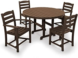product image for POLYWOOD La Casa Café Dining Set, Mahogany