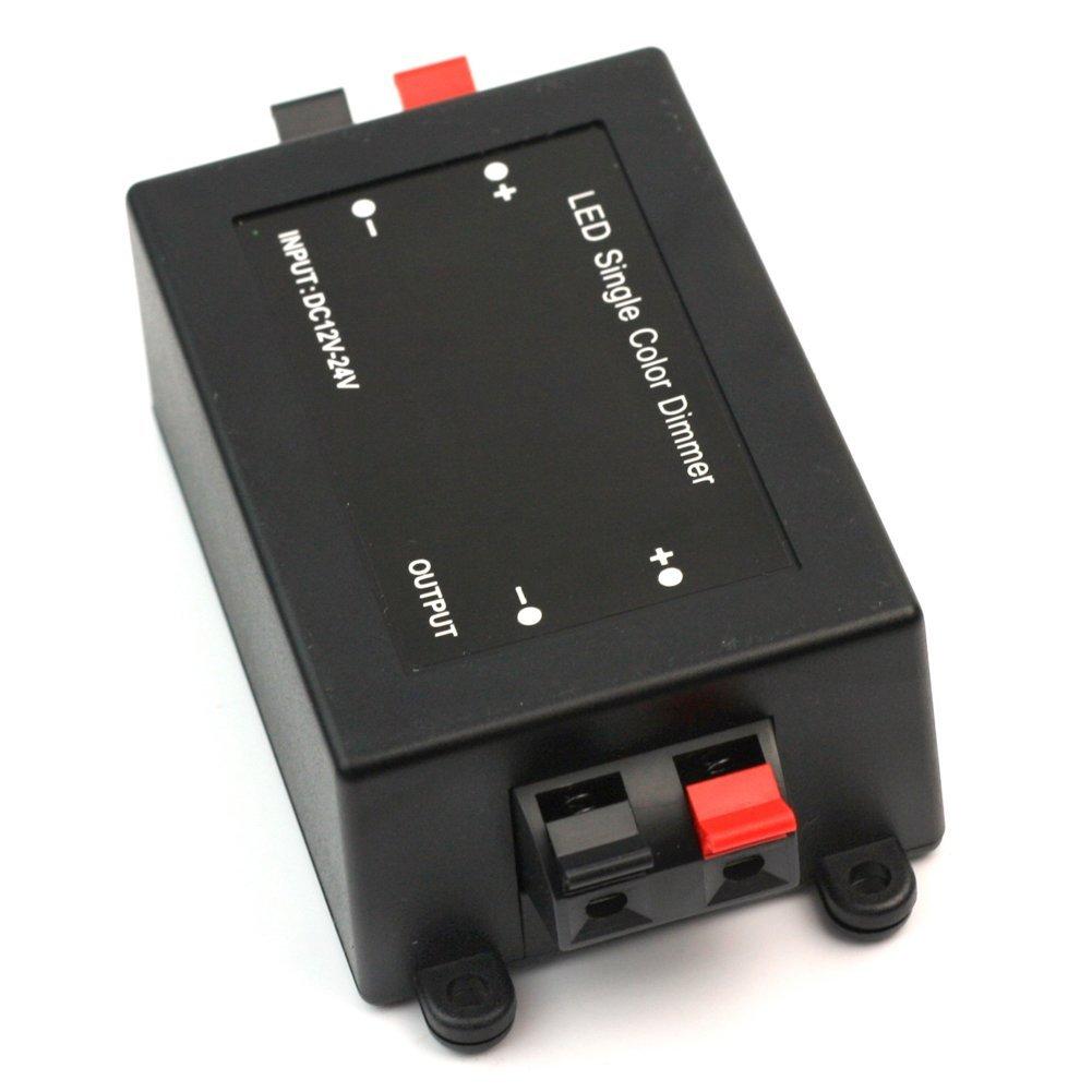 Li-ly Commande /à Distance du variateur de lumi/ère /à Del sans Fil Contr/ôle 12-24V RF R/églage de la luminosit/é Utile et Pratique