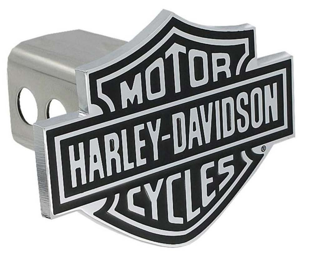 Harley-Davidson Bar & Shield Trailer Hitch Cover 2'' Stainless Steel HDHC14 by Harley-Davidson