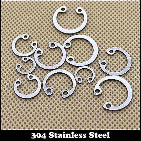 Ochoos M52 M60 M65 304 Stainless Steel 304SS DIN472 Washer C Type Snap Retaining Ring for 52mm 60mm 65mm Internal Bore Shaft Circlip Inner Diameter: 4Pcs M52