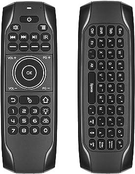 ILS – G7BTS 2,4 GHz Air Mouse 6 ejes con mini teclado BT5.0 ...