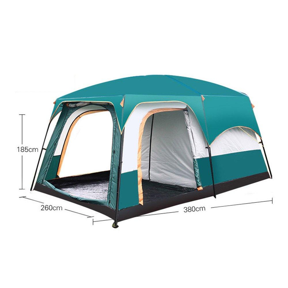 SINBROL Outdoor Automatisches Kuppelzelt Doppelschicht Groß Zelt Wurfzelt, Winddicht Wasserdicht Winddicht Wurfzelt, Camping Festival 885b42