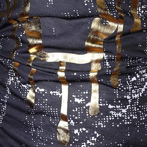 Maniche Cappotti Con Nero Top Outwear Giacche A Esterna Coat Trench Stampata Lungo Manica Giacca Cappotto Lunghe Uomo Cappuccio Camicia Abcone Felpa Parka z5qwR1W
