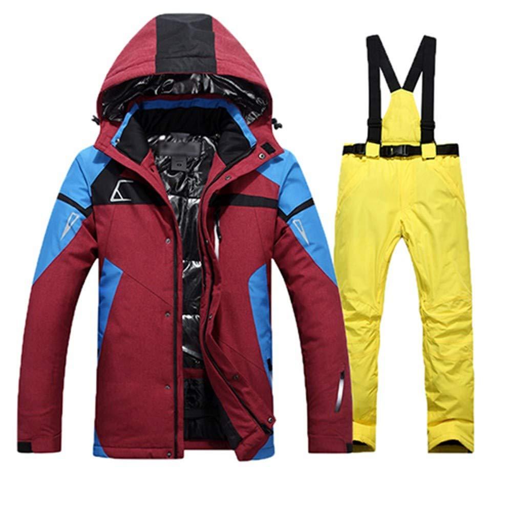 QZHE Tuta da sci Tuta da Sci Sci Sci Uomo Impermeabile Giacca Termica da Snowboard  Pantaloni da Sci E Snowboard Abbigliamento Invernale da Neve Set, XXXLB07L96BRD2L | qualità regina  | Lo stile più nuovo  | Qualità E Quantità Garantita  | eccellente  | Migli 2d7084