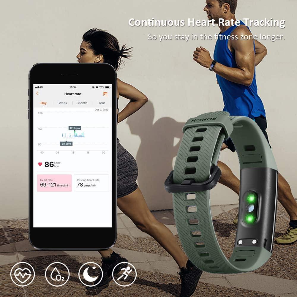 HONOR Band 5 smartwatch,Pulsera de Actividad Inteligente Reloj ...