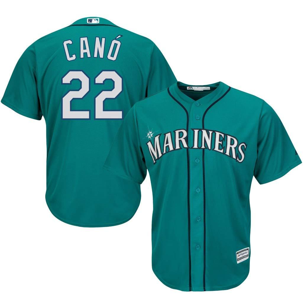 863eeee9b Amazon.com   Majestic Seattle Mariners MLB Mens Robinson Canó Cool Base  Replica Player Jersey Aqua Big   Tall Sizes   Sports   Outdoors
