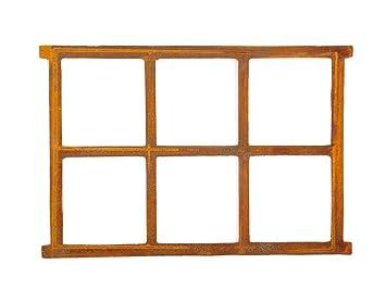 Stallfenster Eisenfenster Scheunenfenster Eisen Fenster 64x48cm im Antik-Stil Stylizowane i nowe