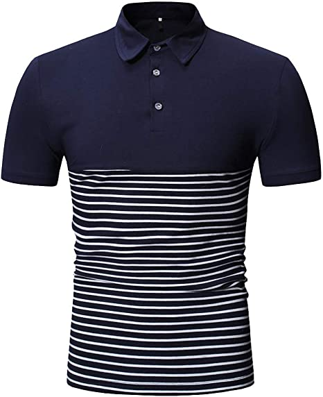Blusa de Hombre Hombre Slim Fit Manga Corta de Hombre Camisa Top Blusa Camiseta Deportiva de Secado rapido Color sólido Hombre Camisa Negra Rayas Hombre Chaleco Sobrecamisa Jodier: Amazon.es: Deportes y aire