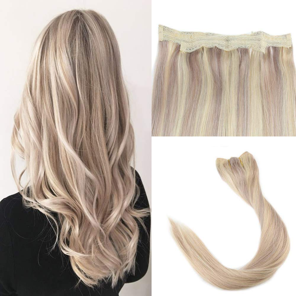 Easyouth Fishing Wire Hair Extensions 16