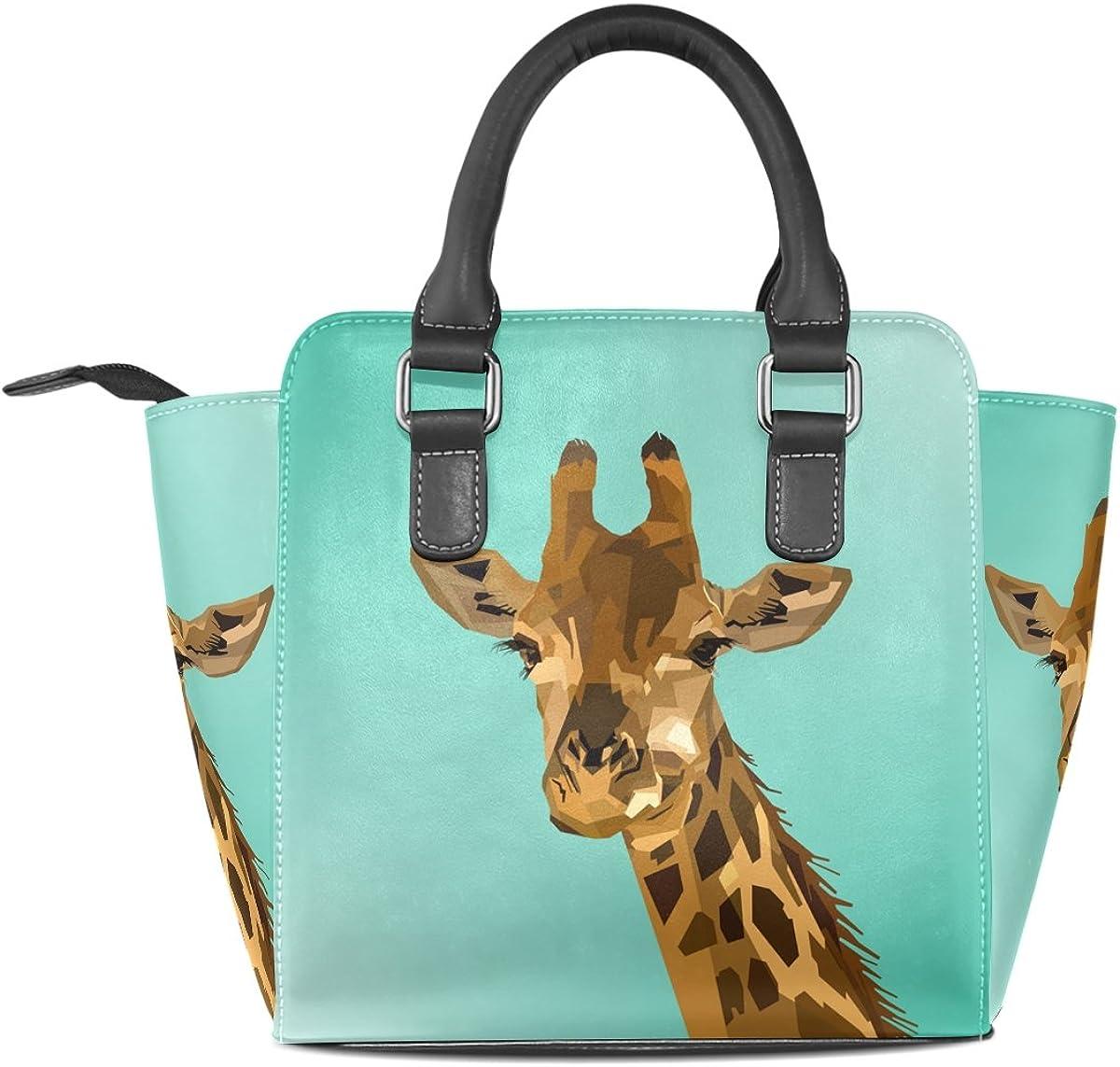 Giraffe Fashion Diagonal Single Shoulder Workout Bag