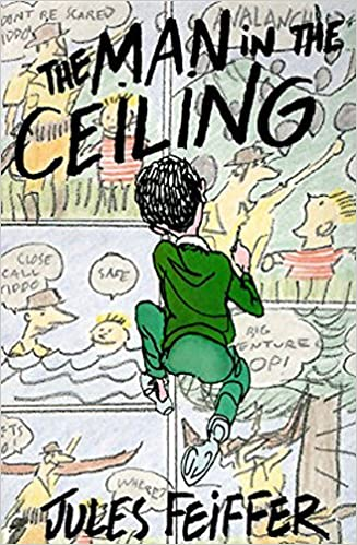 Image result for the man in the ceiling by jules feiffer