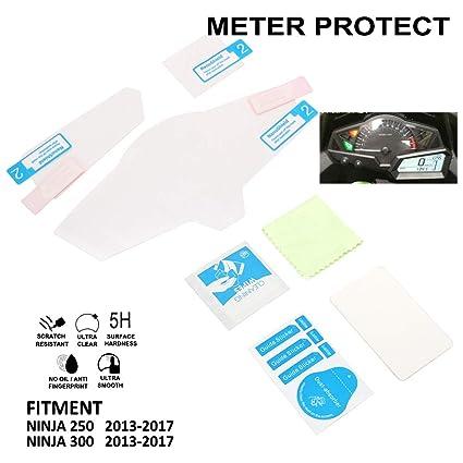 AnXin - Protector de Pantalla para Motocicleta para Kawasaki ...