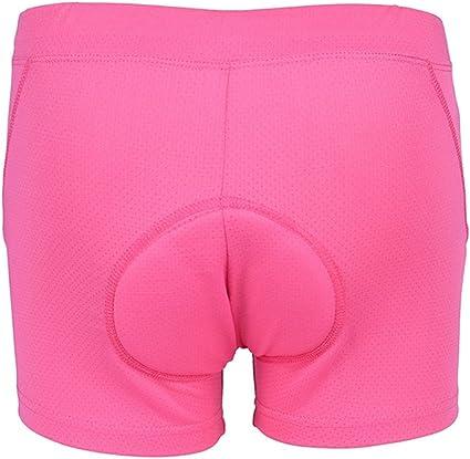 Unisexe V/élo /Équitation sous-v/êtements Shorts Pantalon Respirant S/échage Rapide Shorts de Cyclisme pour Hommes Femmes Tbest 3D Gel Rembourr/é Cyclisme Shorts