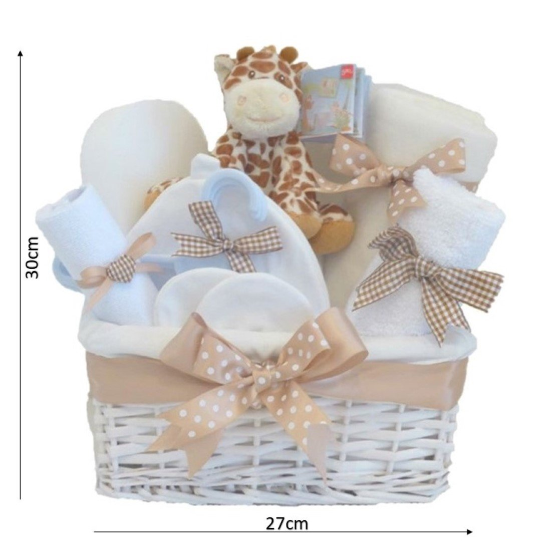 Mr Giraffe Luxury Newborn Baby Gift Hamperbaby Basket Giftnew