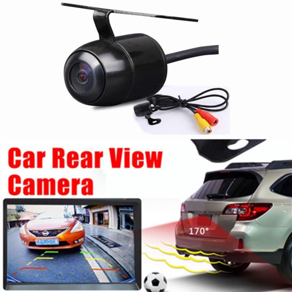 Quaanti Car-Styling Vehicle Camer Waterproof 170 CCD Car Rear View Reserve Backup Parking Camera IR Night Vision Dropship (Black) by Quaanti (Image #3)