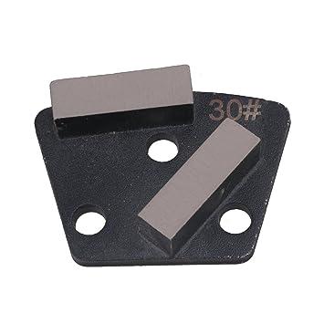 Cnbtr B Pcd Diamant Stahl Metall Beton Trapez Schleifen Pad Block