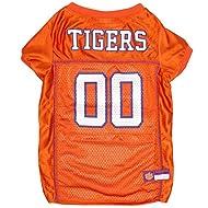 "Clemson Tigers Mesh Dog Football Pet Jersey (Large 20"" to 24"")"