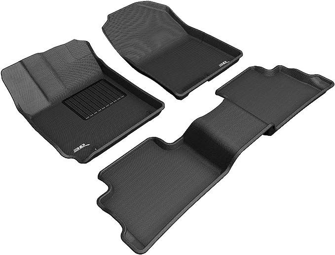 LFOTPP Kona EV Lot de 18 tapis en caoutchouc /électrique pour porte int/érieure Console centrale Antid/érapant Bleu