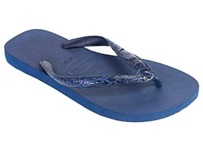 e1884dd73ffb1e Image Unavailable. Image not available for. Color  VALENTINO Garavani Mens  Leather Strap Thong Sandals Blue