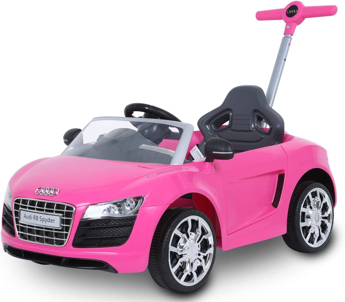 Rollplay Audi Push Car, Rosa, Color (44393)