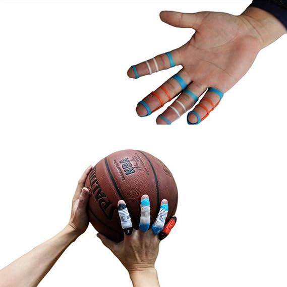 Fingerschützer Fingerschiene Unterstützung Einstellbar Basketball Volleyball