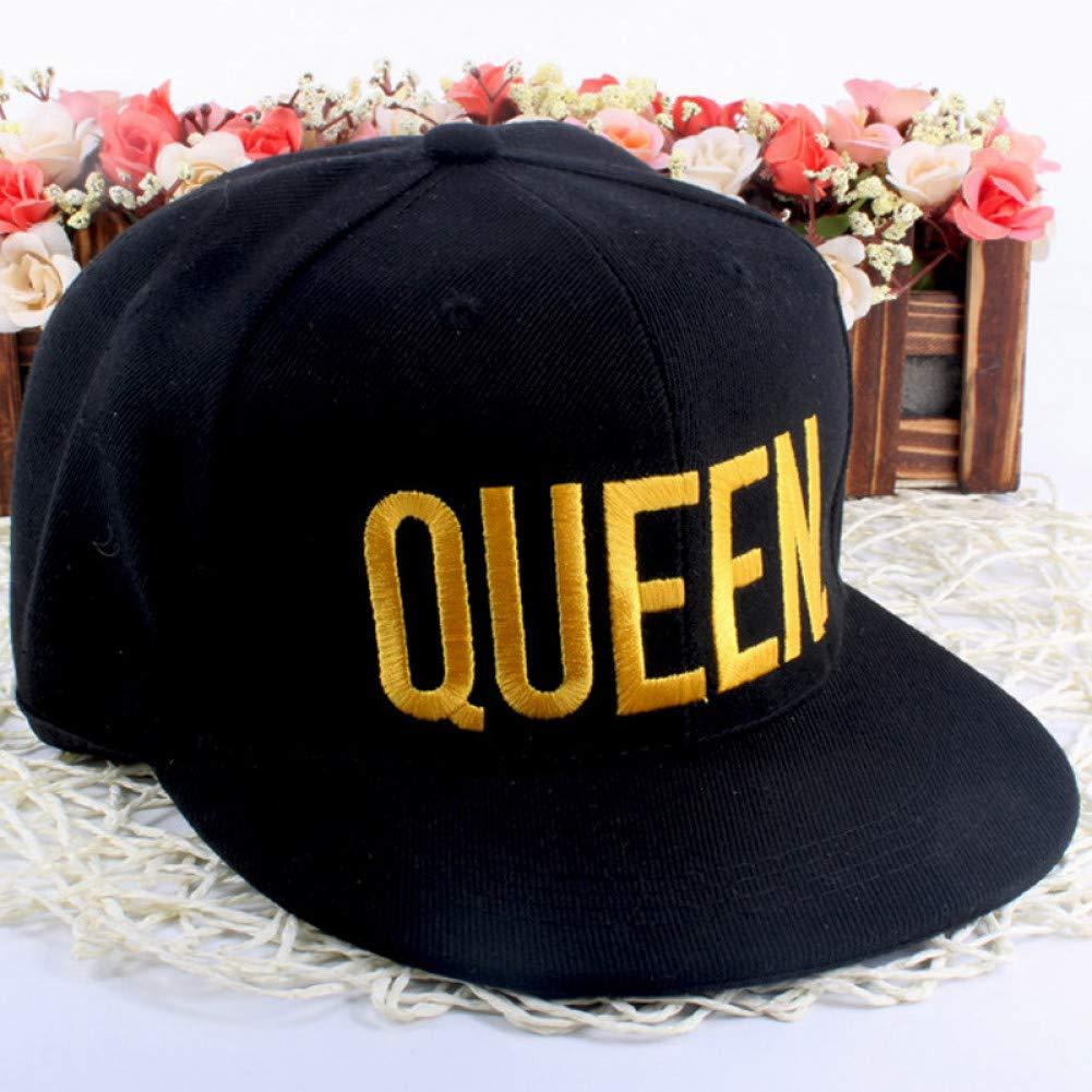 TRGFB Baseball Cap King Queen Bordado Gorras Snapback Amante ...