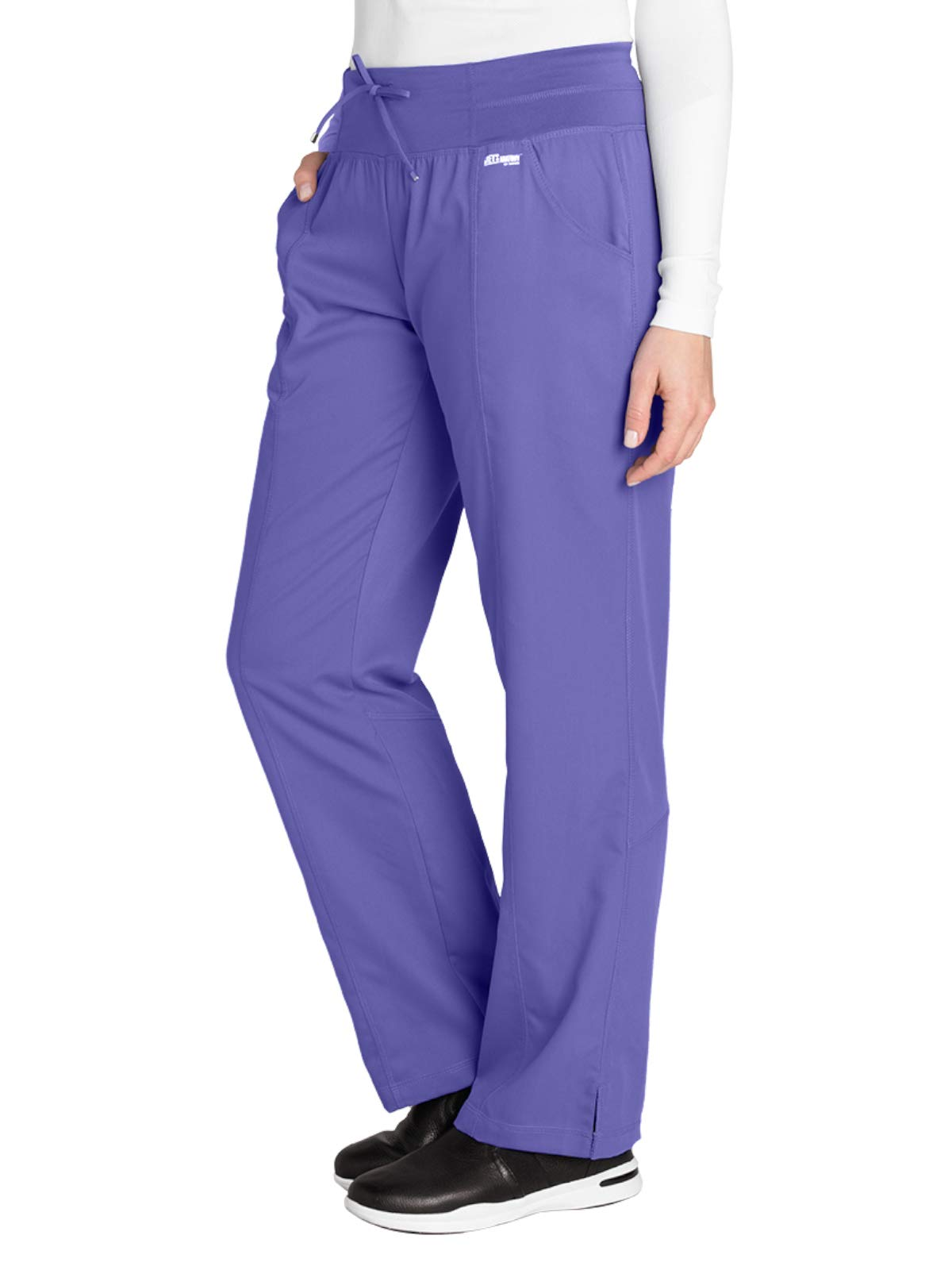 Grey's Anatomy Active 4276 Yoga Pant Passion Purple M Tall by Barco
