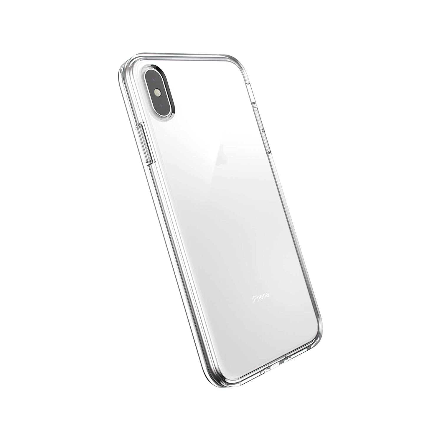 AmazonBasics Slim Case for iPhone Xs Max, Clear