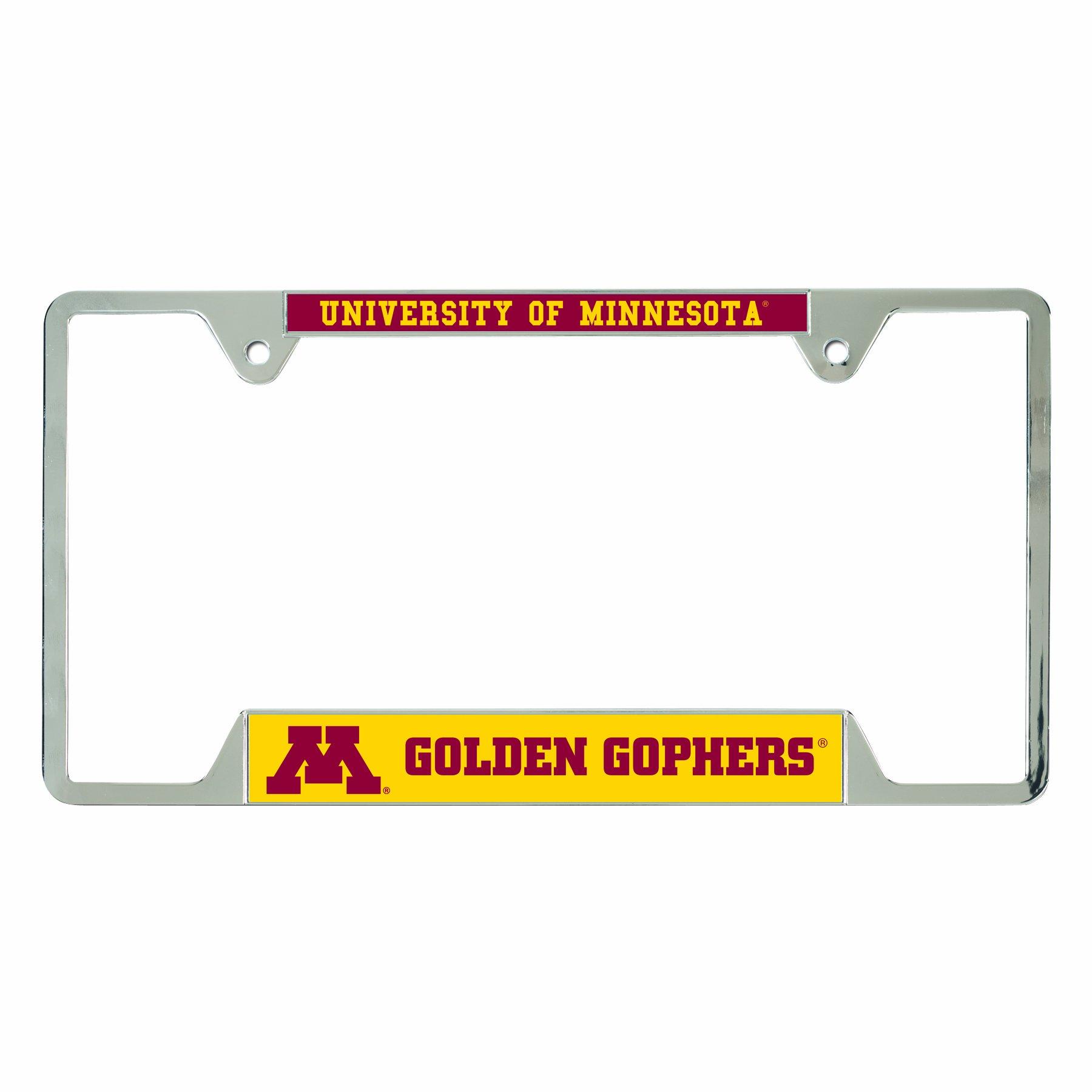 NCAA Minnesota Golden Gophers Metal License Plate Frame