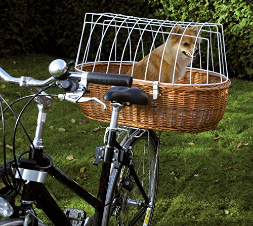 Hunde Fahrradkorb XXL für Gepäckträger, XL: L 70 cm x B 46 cm x H 18/40 cm