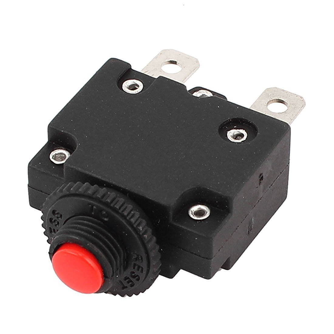 Overload Protector Switch - TOOGOO(R) AC 125/250V 20A Air Compressor Circuit Breaker Overload Protector Switch by TOOGOO(R) (Image #1)