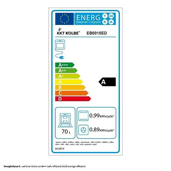 Horno eléctrico integrado de 60cm EB8015ED + placa de ...
