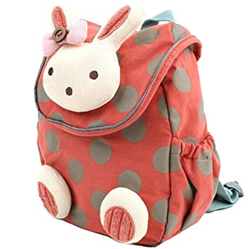 Mochila Infantil/PequeñA Bebes Guarderia Bolsa Lindo Conejo Animales BBsmile Mochila para pequeño niñas Rosa (Rojo Sandia): Amazon.es: Equipaje