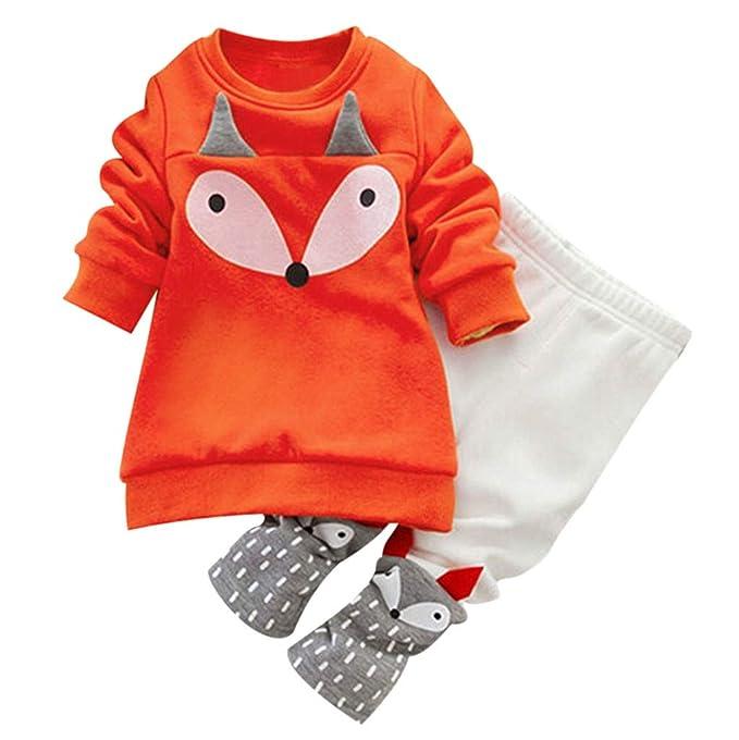 9cb4b360a1cd Babykleidung Set,Covermason Kleinkind Baby Junge Mädchen Fuchs ...