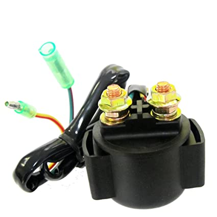 caltric starter solenoid relay fits honda 250 trx250 fourtrax recon 2002 2004  wiring for honda recon starter #5